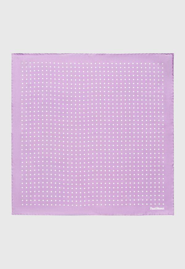 Spotted Silk Pocket Square, image 1