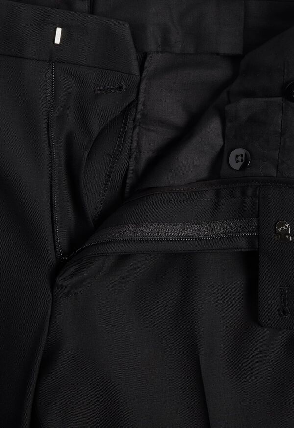Super 110s Wool Peak Lapel Tuxedo, image 7