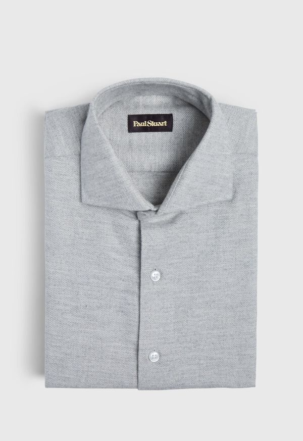 Oxford Brushed Flannel Sport Shirt, image 1
