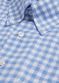 Linen Oxford Gingham Sport Shirt, thumbnail 2