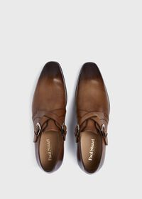 Galante Double Cross Monk Strap, thumbnail 2