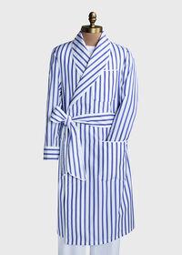 Awning Stripe Cotton Robe, thumbnail 3
