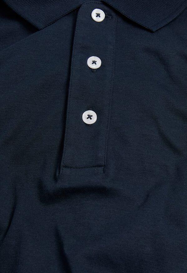 Pima Cotton Interlock Polo, image 16