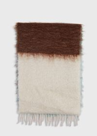 Colorblock Mohair Scarf, thumbnail 4