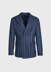 Stripe Wool Jacket, thumbnail 1