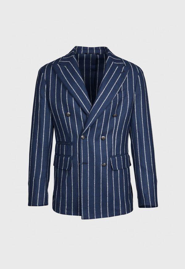 Stripe Wool Jacket
