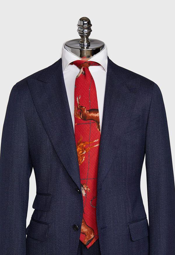 Running Horse Wool and Yak Tie, image 2