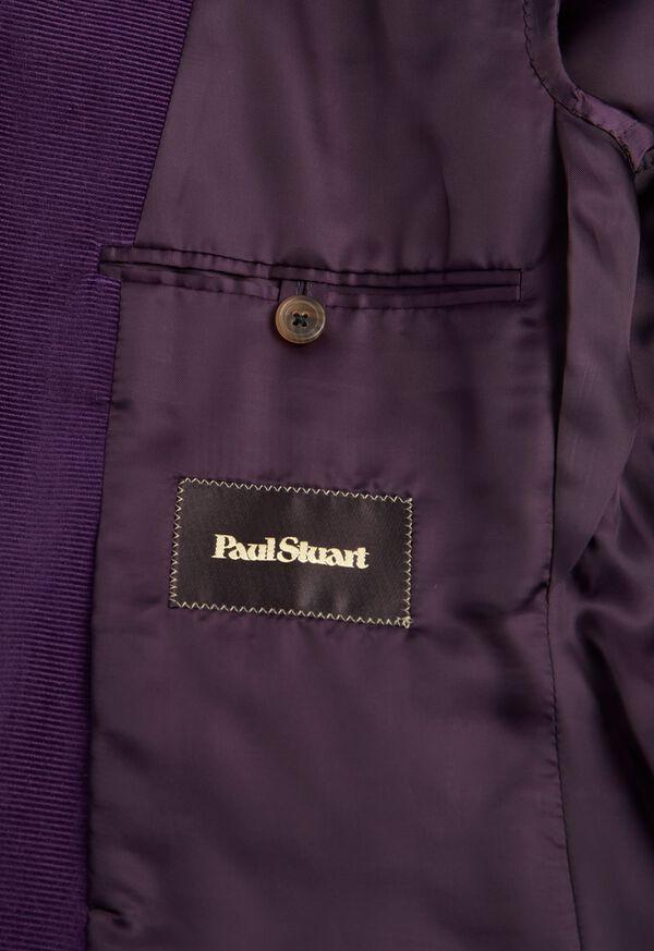 Plum Corduroy Sport Jacket, image 3