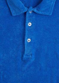 Terry Cloth Polo Shirt, thumbnail 3