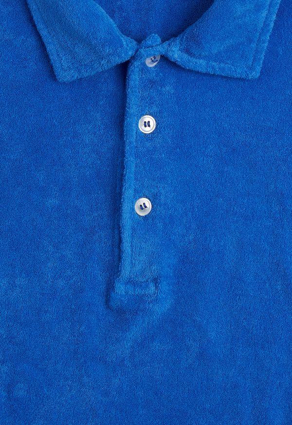 Terry Cloth Polo Shirt, image 3