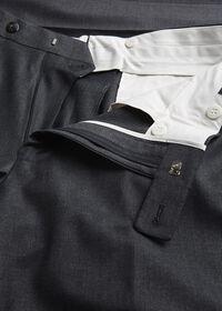 Super 110s Wool Plain Front Trouser, thumbnail 2