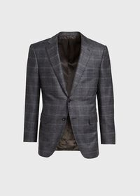 Grey Plaid Suit, thumbnail 3