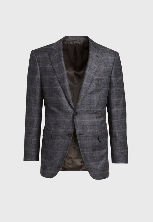 Grey Plaid Suit, image 3