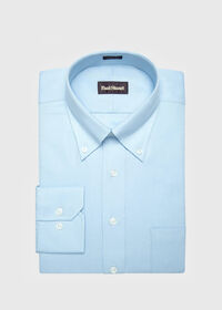 Blue Oxford Traveler Shirt, thumbnail 1