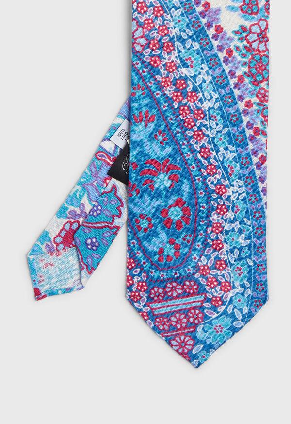 Deco Floral Paisley Tie, image 1