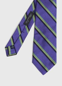Silk Deco Stripe Sknny tie, thumbnail 1