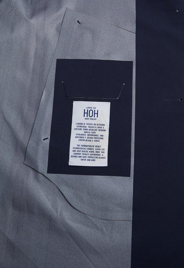 Navy Waterproof Trench Coat, image 5