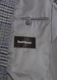Purple Plaid Cashmere Sport Jacket, thumbnail 3