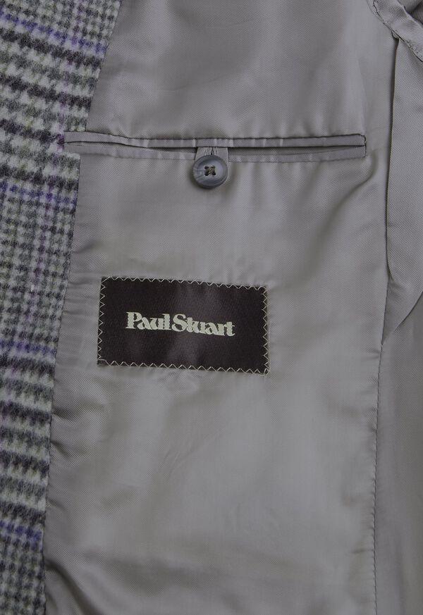 Purple Plaid Cashmere Sport Jacket, image 3