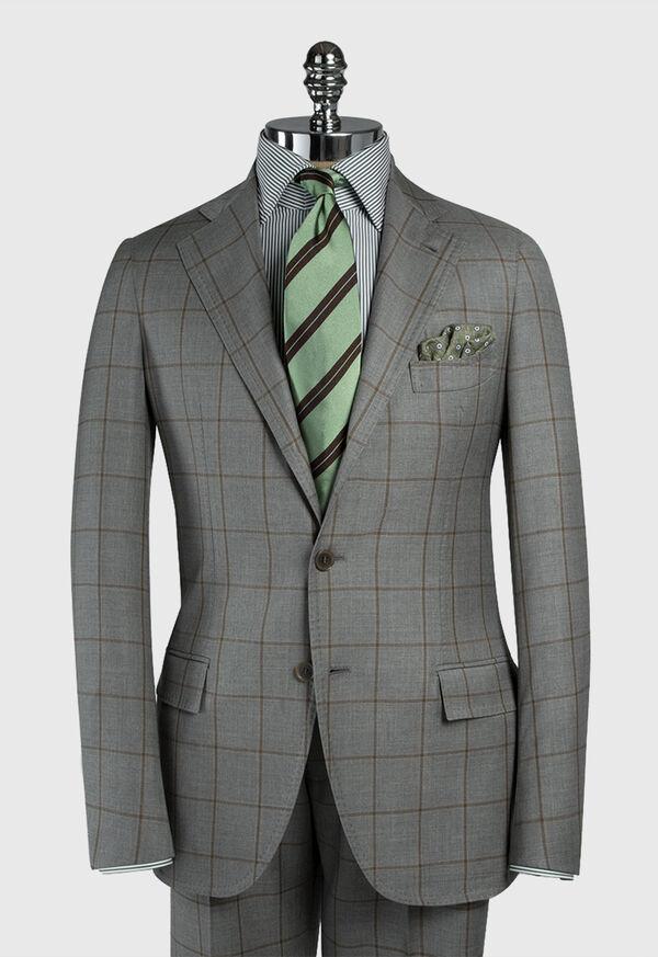 Wool Windowpane Suit, image 3