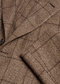 Brown Windowpane Jacket, thumbnail 2