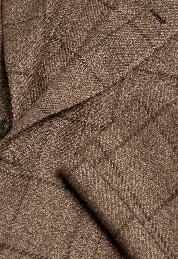 Brown Windowpane Jacket, image 2