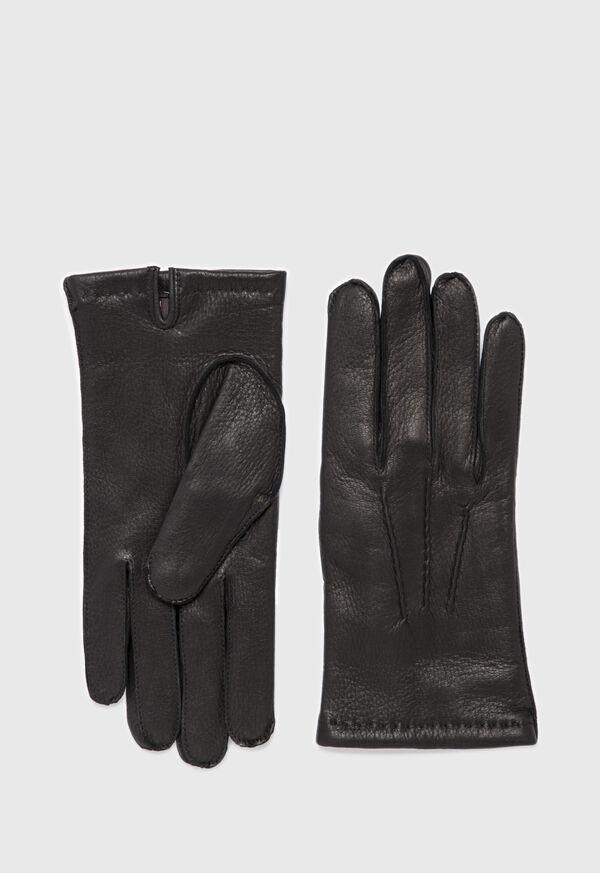 Deerskin Cashmere Lined Gloves, image 1