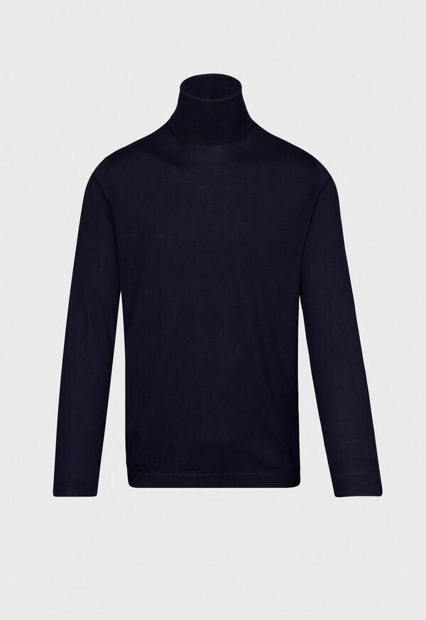 Super Lightweight Wool Turtleneck, image 1