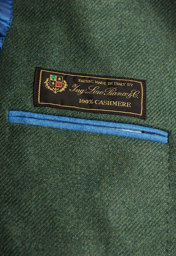 Solid Cashmere Green Blazer, image 3