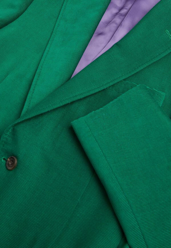 Green Corduroy Sport Jacket, image 3