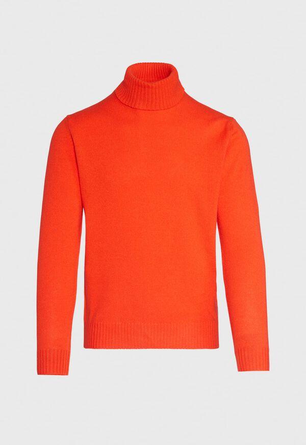 Merino Wool Blend Turtleneck, image 1