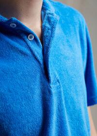Terry Cloth Polo Shirt, thumbnail 4