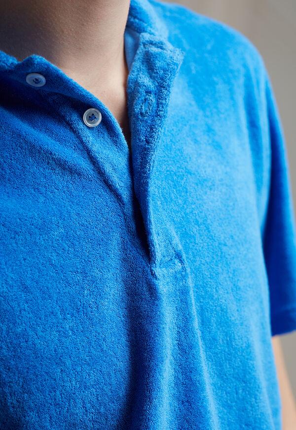 Terry Cloth Polo Shirt, image 4