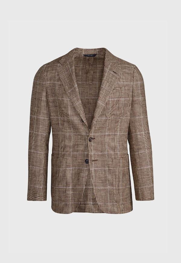 Tan Plaid Jacket, image 1