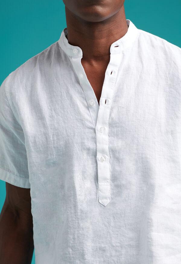 Linen Short Sleeve Popover, image 3