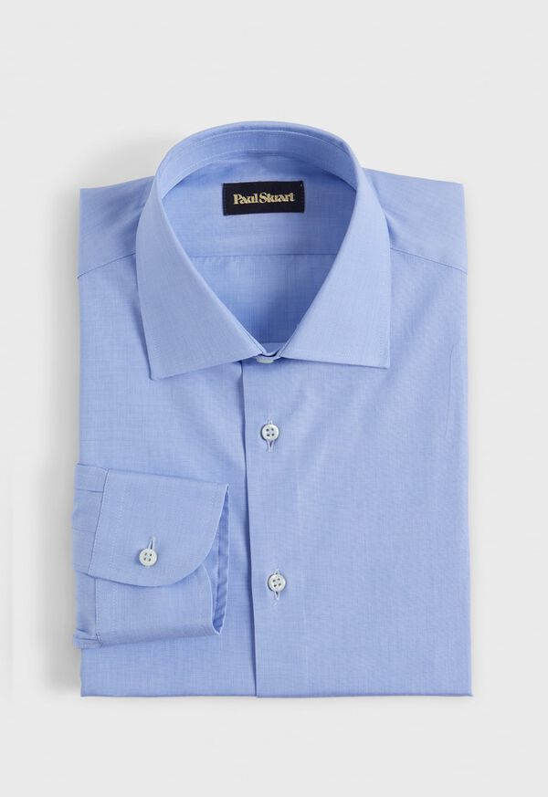 Blue Slim Fit Dress Shirt, image 1