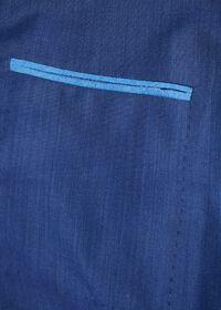 Blue Solid Suit, thumbnail 4