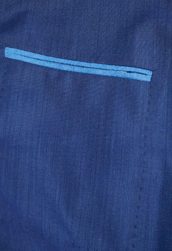 Blue Solid Suit, image 4