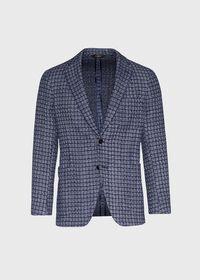 Blue Basket Weave  Jacket, thumbnail 1