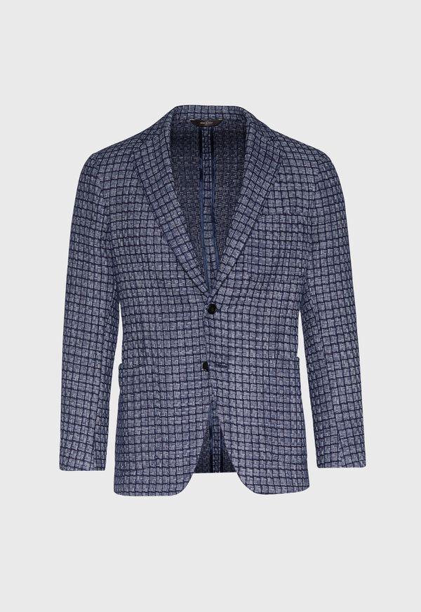 Blue Basket Weave  Jacket, image 1