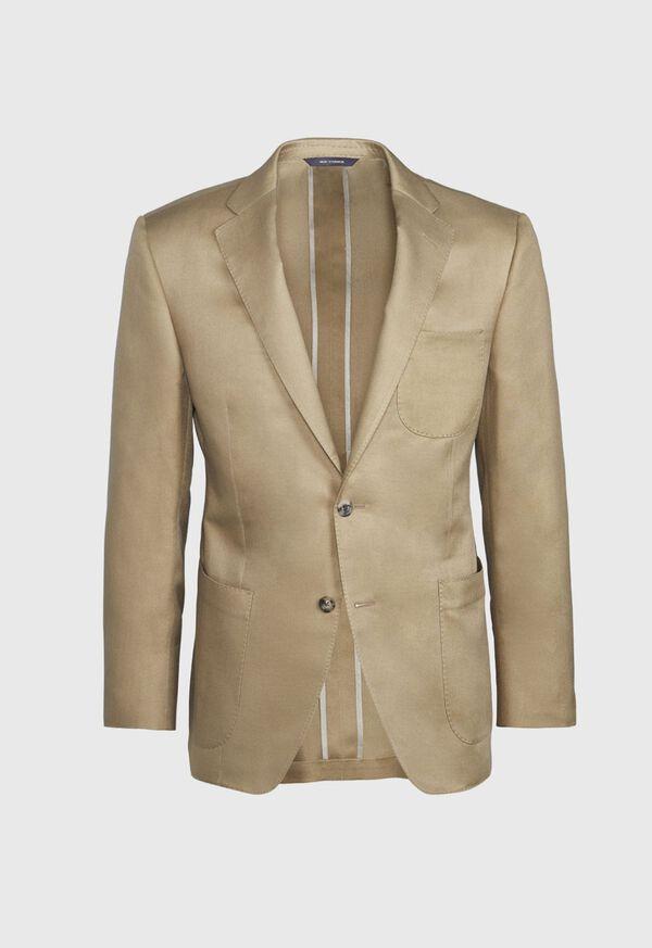 Paul Fit Solid Khaki Sport Jacket, image 1
