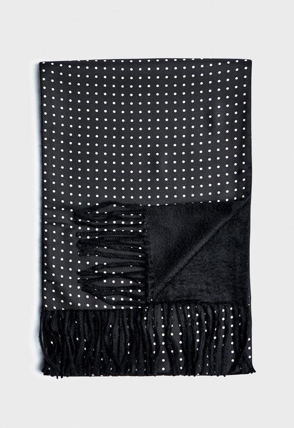 Reversible Dot Print Scarf, image 1