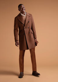 Vicuna Double Breasted Coat with Gauntlet, thumbnail 2