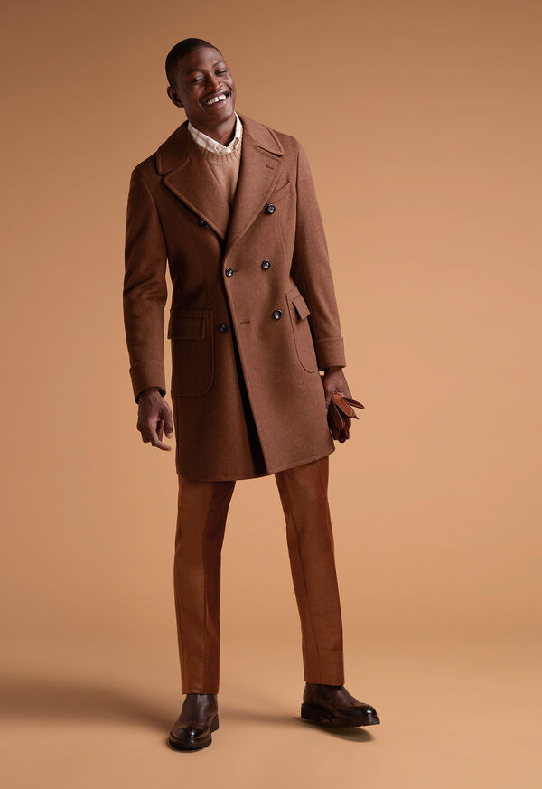 Vicuna Double Breasted Coat with Gauntlet, image 2