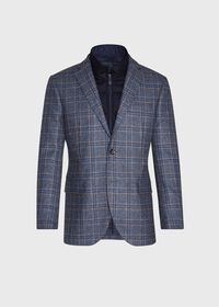 Plaid Travel Jacket and Built-in Vest, thumbnail 1