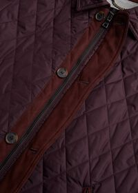 Diamond Quilted Barn Coat, thumbnail 3