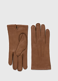 Deerskin Cashmere Lined Gloves, thumbnail 1