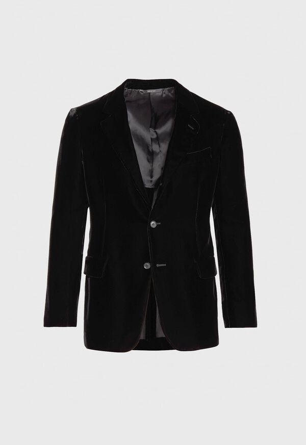 Black Velvet Blazer, image 1