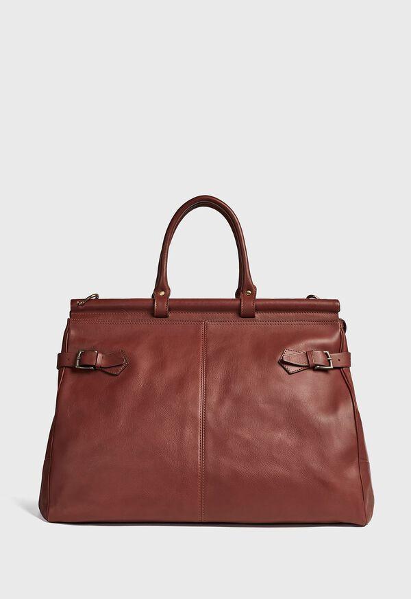 Bridle Leather Carpet Bag, image 1