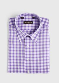 Oversize Gingham Sport Shirt, thumbnail 1